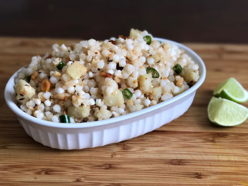 sabudana khichdi for navratri fasting