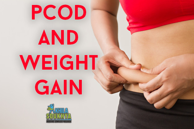 pcod and weight gain
